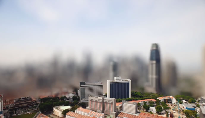 The Lion City - Timelapse + TiltShift + Blur 2