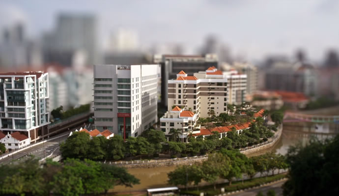 The Lion City - Timelapse + TiltShift + Blur 3