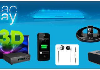[Concours]Gagnez 1 lecteur multimédia, docks, réveils et accessoires #Iphone avec Macway