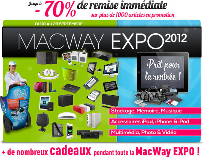 [Concours]Gagnez 1 lecteur multimédia, docks, réveils et accessoires #Iphone avec Macway 3