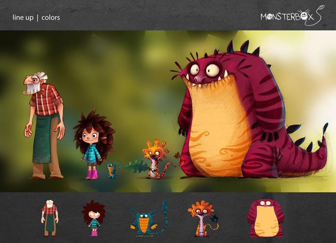 MonstrerBox - Superbe court métrage d'animation 6