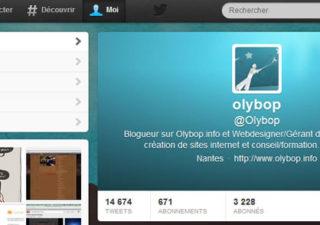 Comment avoir le nouveau design du profil Twitter ?