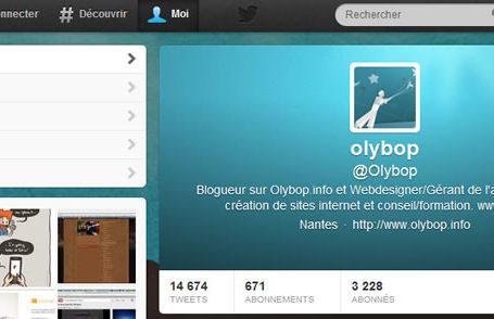Comment avoir le nouveau design du profil Twitter ? 7