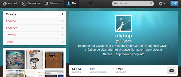 Comment avoir le nouveau design du profil Twitter ? 2