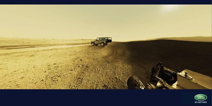 Publicités autour de la planète Mars 4