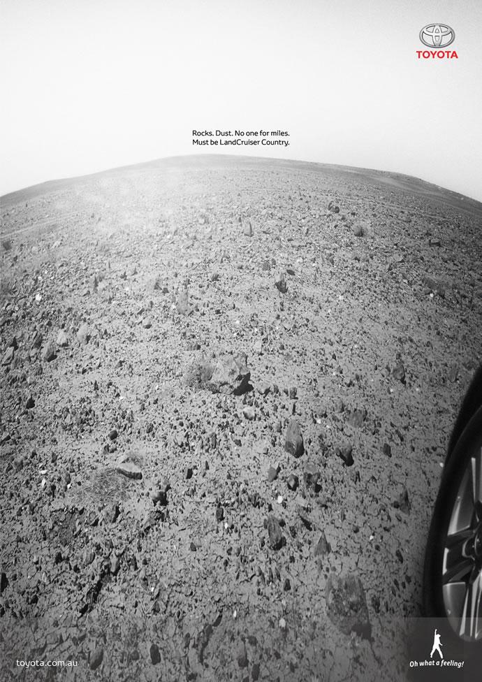 Publicités autour de la planète Mars 6