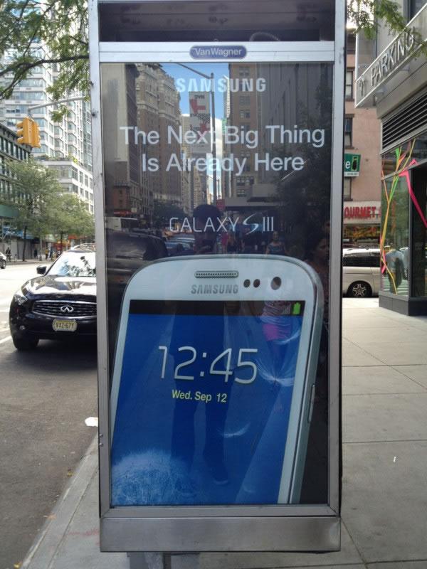 Quand Samsung Troll Apple avec la publicité 3