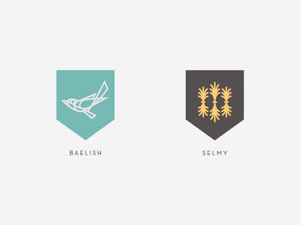 Redesign des sceaux Game of Thrones 4
