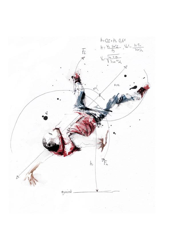 Illustrations géométriques de Florian NICOLLE 8