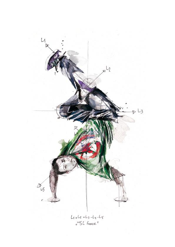 Illustrations géométriques de Florian NICOLLE 9