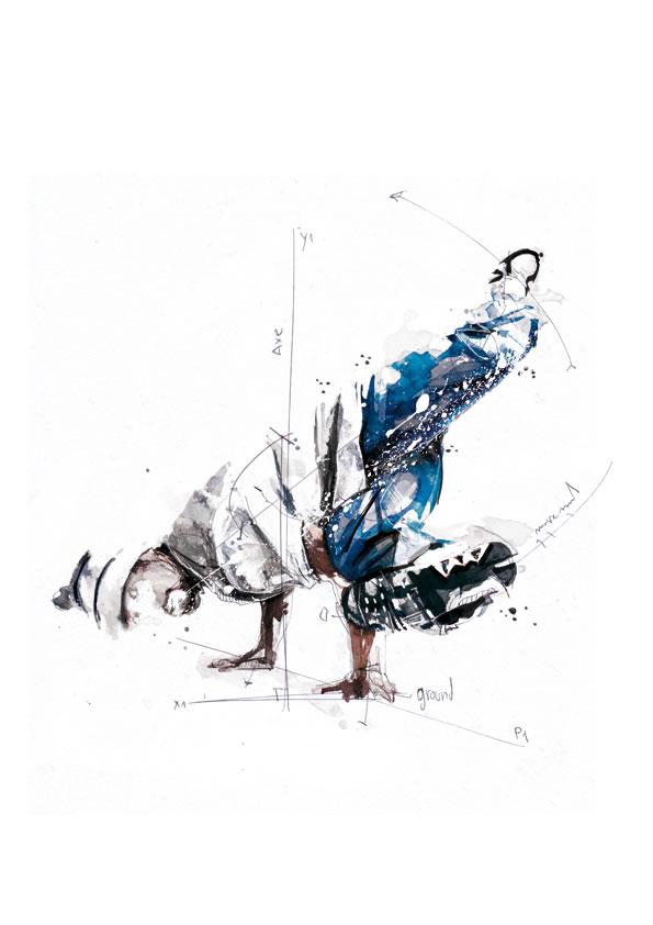 Illustrations géométriques de Florian NICOLLE 2