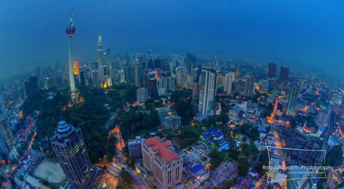 Timelapse : Kuala Lumpur Jour et nuit 4