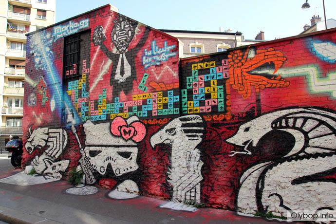 Street-art : Paris fait le show (70 photos) 9