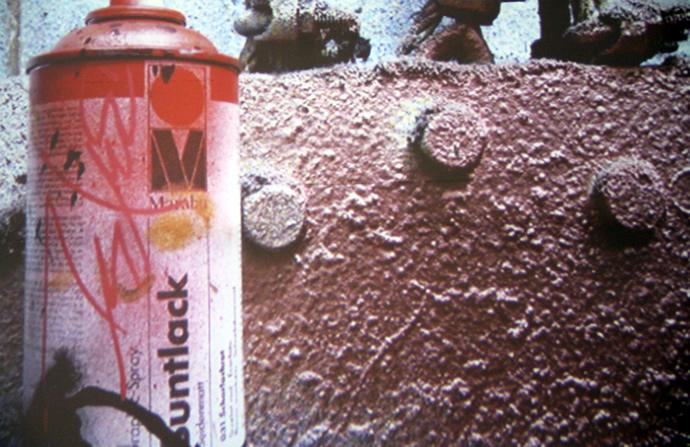 Street-Art : Futura en live pour Hennessy chez Colette. 3