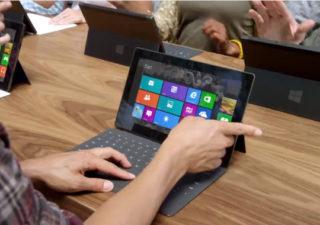 Première publicité pour Microsoft Surface - The Surface Movement