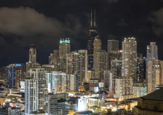 Timelapse : Cityscape Chicago