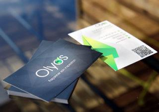 Business Card #1 - 20 cartes de visite avec effet papier 1