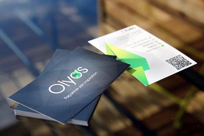 Business Card #1 - 20 cartes de visite avec effet papier 2
