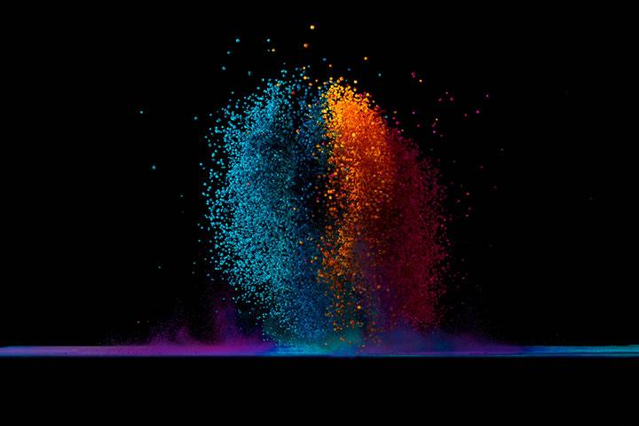 Concept : Dancing colors Fabian Oefner 3