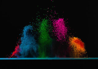 Concept : Dancing colors Fabian Oefner