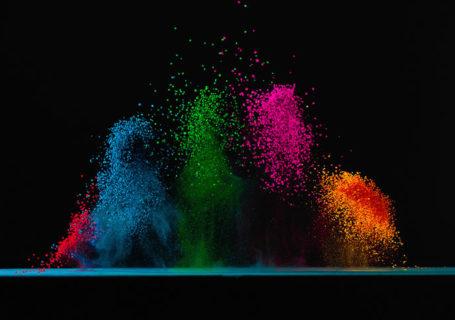 Concept : Dancing colors Fabian Oefner 2