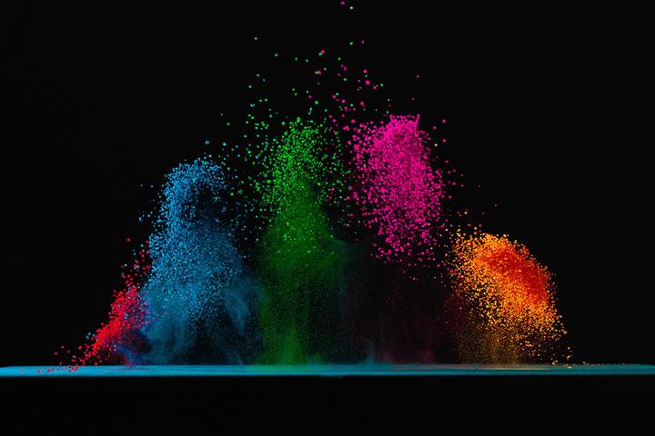 Concept : Dancing colors Fabian Oefner 6