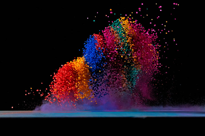Concept : Dancing colors Fabian Oefner 7