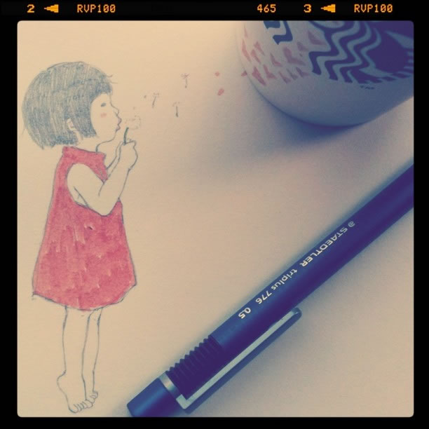 Illustration : Les Doodles Starbucks de Tokomo 4