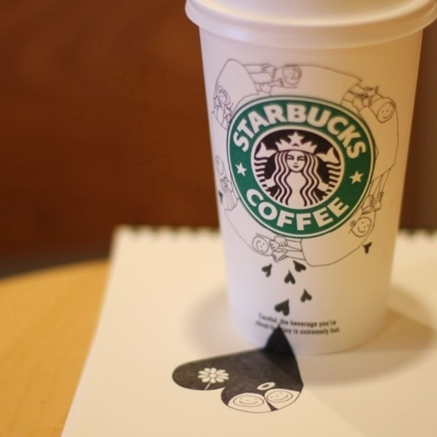 Illustration : Les Doodles Starbucks de Tokomo 34