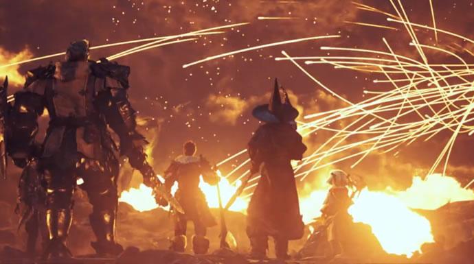 Animation : Final Fantasy XIV: A Realm Reborn - End of an Era 3