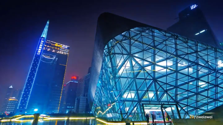 Timelapse : Guangzhou 2012 - CHINA 3