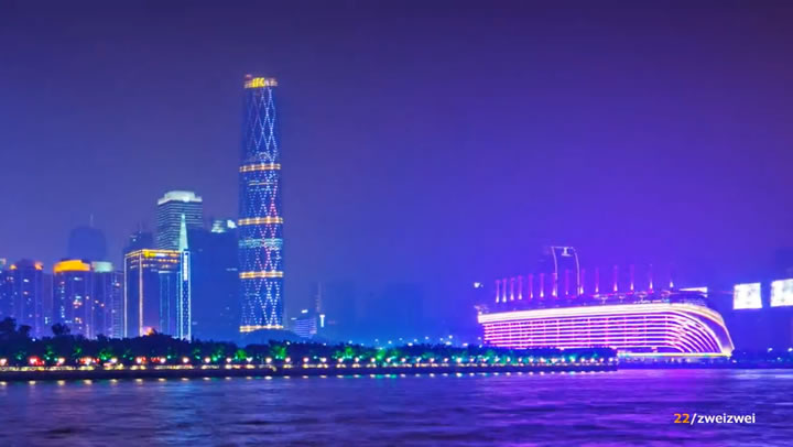 Timelapse : Guangzhou 2012 - CHINA 4