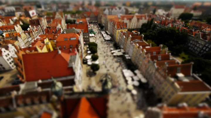 Tilt-Shift : Pocket Poland 2