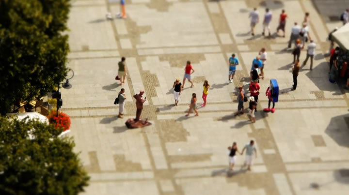 Tilt-Shift : Pocket Poland 3