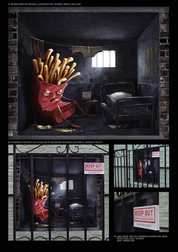 70 publicités designs et créatives d'Octobre 2012 31