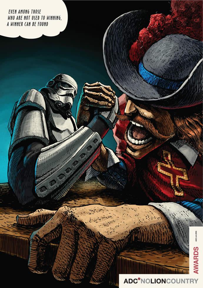 70 publicités designs et créatives d'Octobre 2012 34