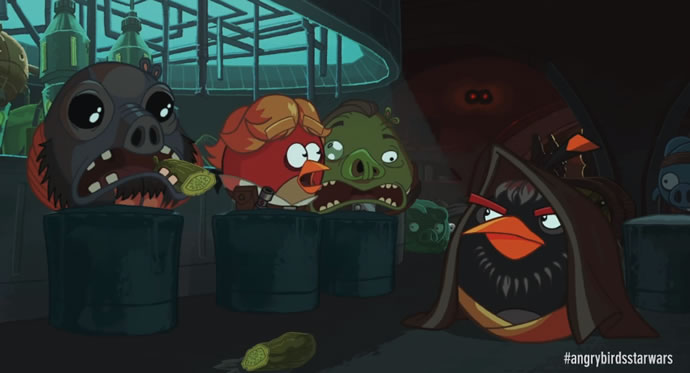 Animation : Cinématique Angry Birds Star Wars 2