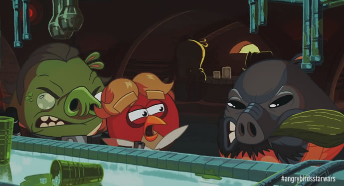Animation : Cinématique Angry Birds Star Wars 3