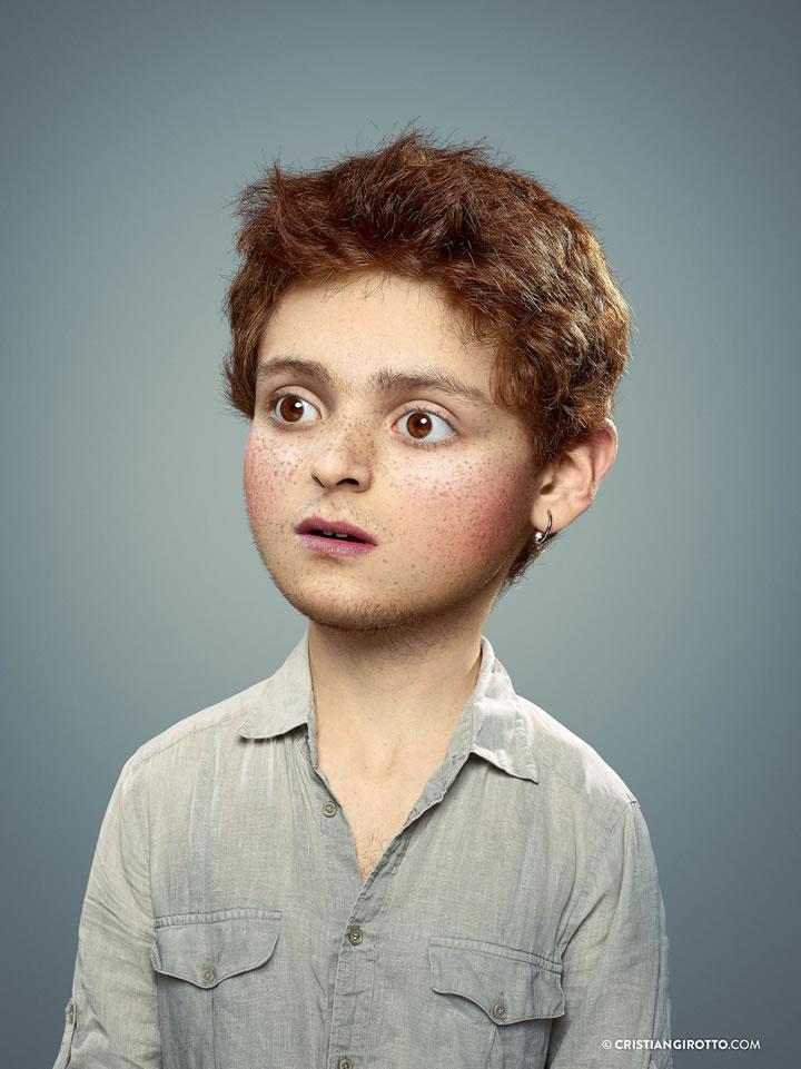 Photomontages : L'enfant extérieur de Cristian Girotto 5