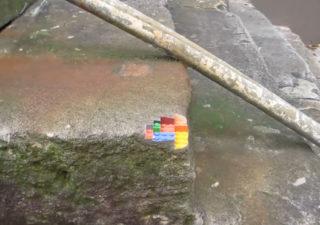 Impression 3D : Un coin de mur en Lego