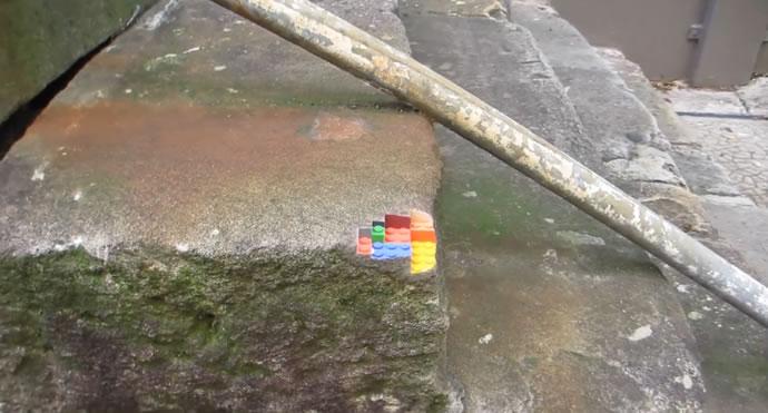 Impression 3D : Un coin de mur en Lego 2