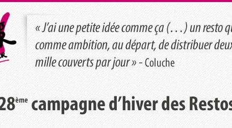 Infographie : Les Chiffres des Restos du Cœur 2013 2
