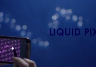 Concept : Galaxy Note II - Liquid Pixels