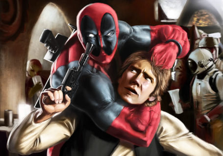 Illustration : StarWars et Marvel se rencontrent 9