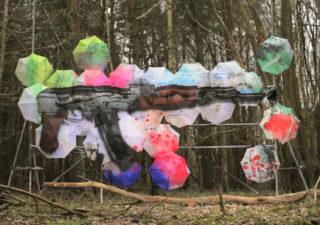 Concept : Pop Pop Bang : Art créatif sur Parapluies 1