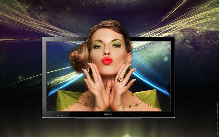 Infographie : L'histoire de la télévision chez Sony + Création Branding 3