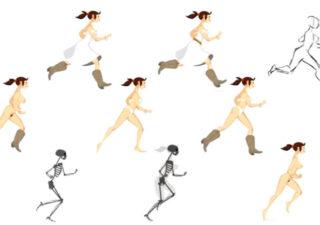 Animation : walks and runs 1