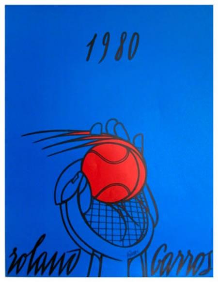 Graphisme : Toutes les affiches de Roland-Garros depuis 1980 33