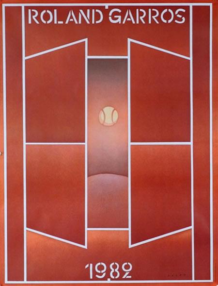 Graphisme : Toutes les affiches de Roland-Garros depuis 1980 31