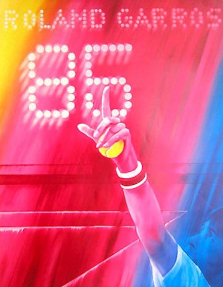 Graphisme : Toutes les affiches de Roland-Garros depuis 1980 28